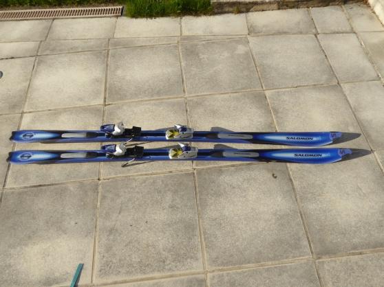 Annonce occasion, vente ou achat 'Ski Salomon Prolink L 187 cm avec housse'