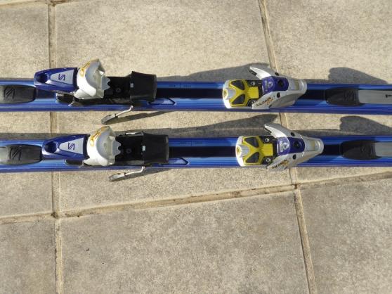 Ski Salomon Prolink L 187 cm avec housse - Photo 3