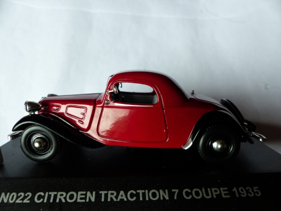 Annonce occasion, vente ou achat 'CITROEN TRACTION 7CV CABRIOLET NOSTALGIE'