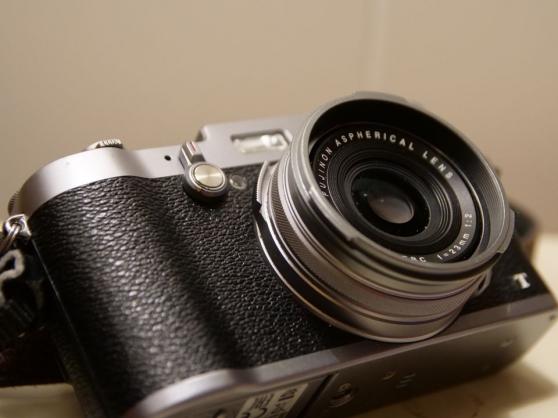 Fujifilm x100t avec adaptateur 50 mm