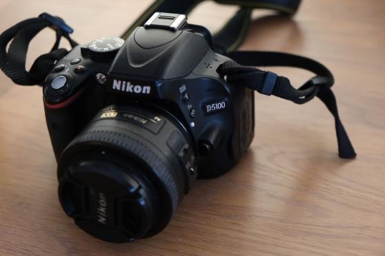 Nikon d5100 avec plusieurs objectifs