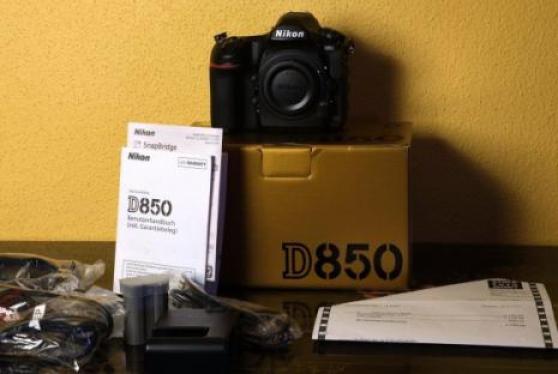 Annonce occasion, vente ou achat 'Nikon D850 DSLR Appareil photo'
