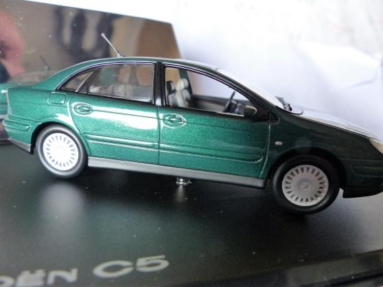 Annonce occasion, vente ou achat 'CITROEN C5 miniature NOREV 1/43ème'