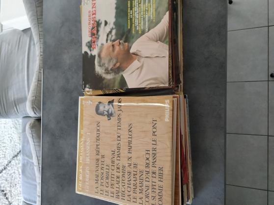 Lot de 71 disques vinyles