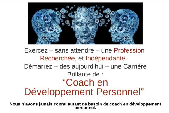 Annonce occasion, vente ou achat 'Devenez coach en Développement Personnel'