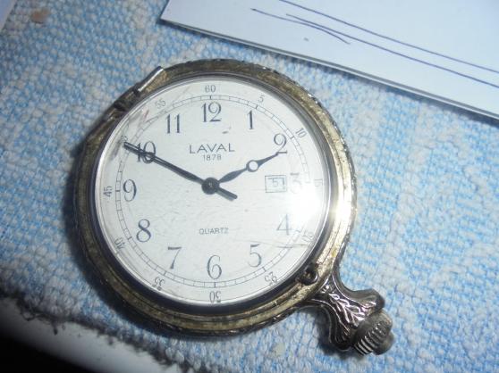 Annonce occasion, vente ou achat 'ancienne montre a gousset laval'