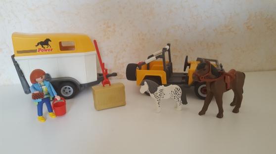 Playmobil 3249 -2- Cavalière - et Van - Photo 2