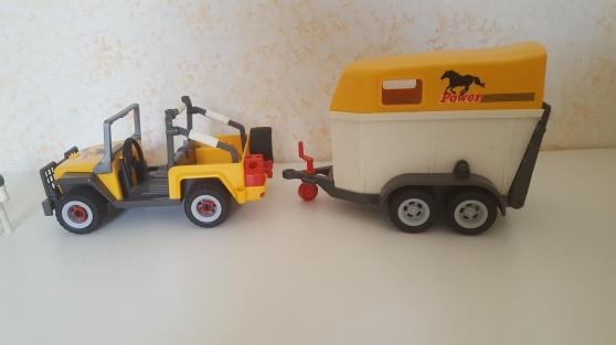 Playmobil 3249 -2- Cavalière - et Van - Photo 3
