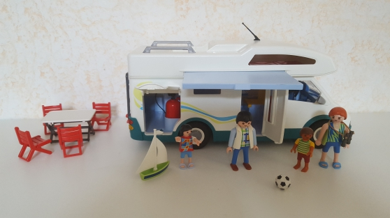 Playmobil 6671 - Famille - camping car