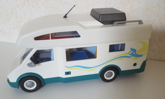 Playmobil 6671 - Famille - camping car - Photo 3