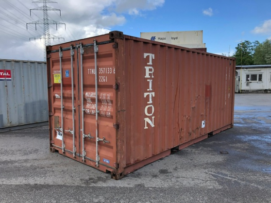 Container 20 pieds occasion - Photo 2