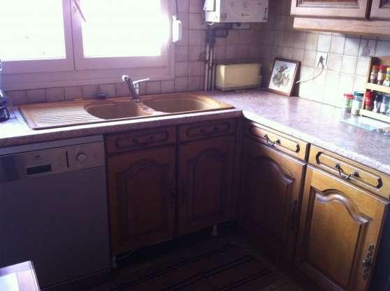 Cuisine int gr e rustique meubles d coration cuisines for Meubles cuisine integree
