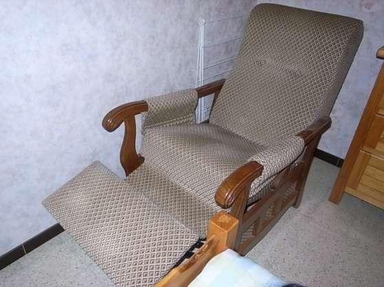 Annonce occasion, vente ou achat 'fauteuil relax à commandes manuelles'