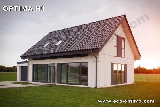 maison ossature bois 147m meaux immobilier a vendre. Black Bedroom Furniture Sets. Home Design Ideas