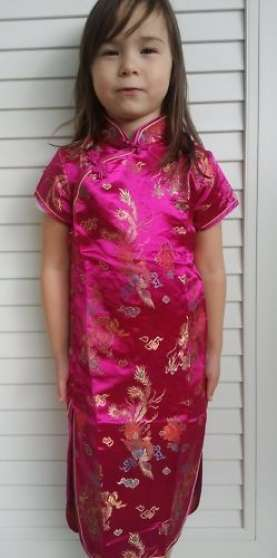 Annonce occasion, vente ou achat 'ROBE CHINOISE NEUVE POUR PETITE FILLE'