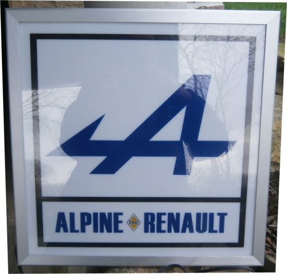 Annonce occasion, vente ou achat 'ALPINE RENAULT LUMINEUSE'