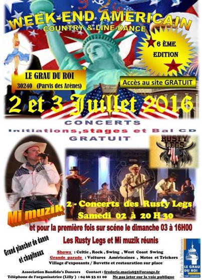 6 éme festival country & line dance - Annonce gratuite marche.fr