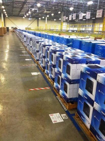 Des lots de consoles PlayStation 4 à bon