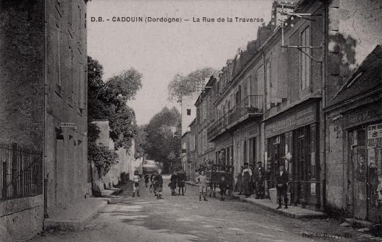 cadouin (24) - la rue de la traverse - Annonce gratuite marche.fr