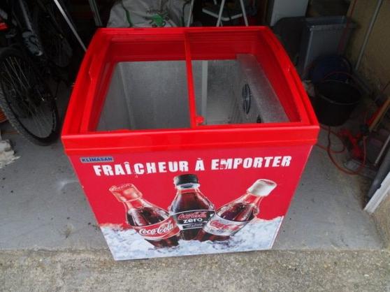 Bac réfrigéré Coca-Cola