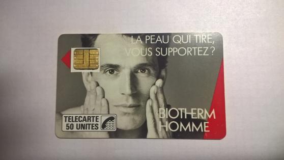 Petite Annonce : Cartes telephonique f3 - Carte  téléphonique  F 3  biotherm   puce sc3  tirage 50 000  bon état