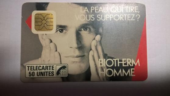 Petite Annonce : Cartes telephonique f4 - Carte téléphonique  F4  biothem  puce  so1  tirage 50 000 bon état