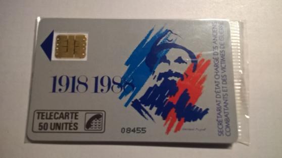 Petite Annonce : Cartes telephonique f35 - Cartes téléphonique F 35 anciens combattants puce sc3  tirage 10 000