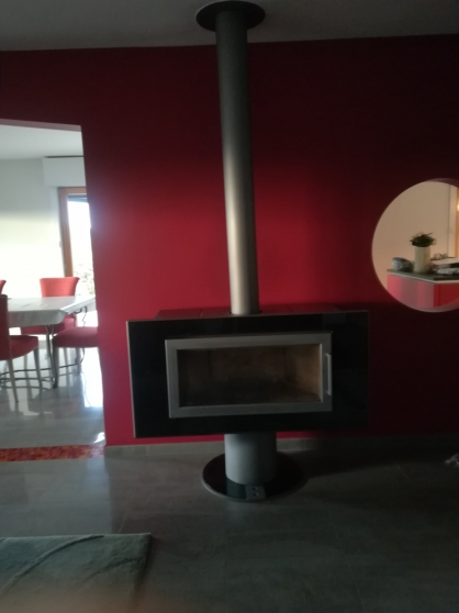 Annonce occasion, vente ou achat 'cheminée WODTKE, FIRE KK65, pivotante'