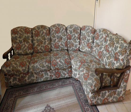 Je donne un canapé d'angle