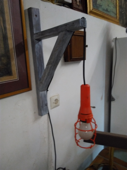 Annonce occasion, vente ou achat 'Lampe industrielle'