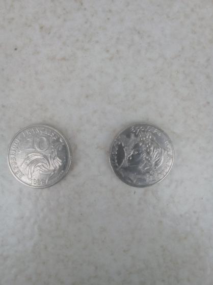 Annonce occasion, vente ou achat 'Pièces 10 franc 1986 Jiménez'