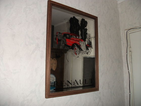 Petite Annonce : Miroir publicitaire renault ( vintage ) - Vend , miroir publicitaire Renault ( vintage ) 15 euros Idéal pour