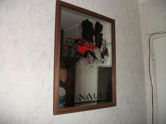 Annonce occasion, vente ou achat 'Miroir publicitaire Renault ( vintage )'