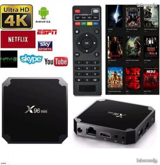 TV Smart box android X96- mini Hi-Fi 4K