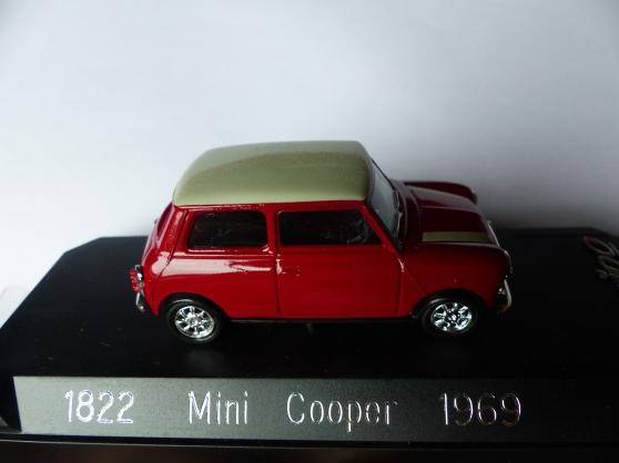 Annonce occasion, vente ou achat 'MINI COOPER-NEW MINI SOLIDO 1/43ème'