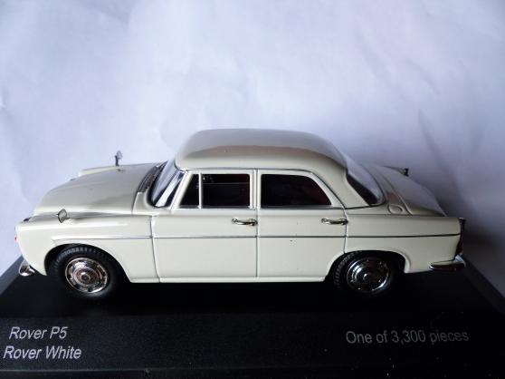 Annonce occasion, vente ou achat 'ROVER P5 1962 VANGUARDS 1/43ème'