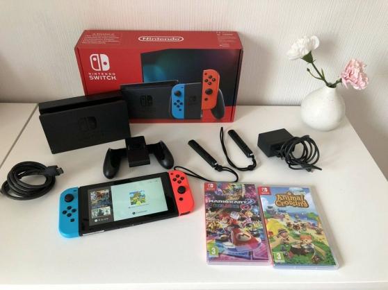 Console Nintendo Switch super état neuf - Photo 3