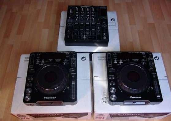2 platines Pioneer CDJ1000-MK3