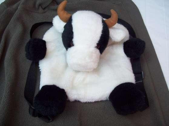 Sac a dos avec peluche vache