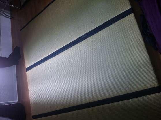 URGENT - 3 tatamis - 100% paille de riz