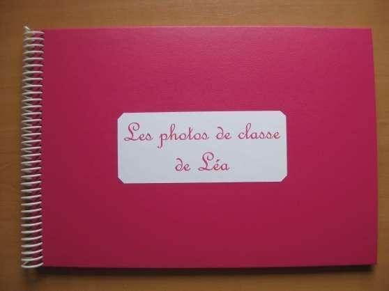 Annonce occasion, vente ou achat 'Album pour photos de classe'