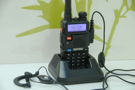Annonce occasion, vente ou achat 'Walkie-talkie VHF-UHF Baofeng UV-5R'