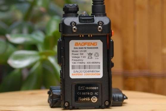 Walkie-talkie VHF-UHF Baofeng UV-5R - Photo 4