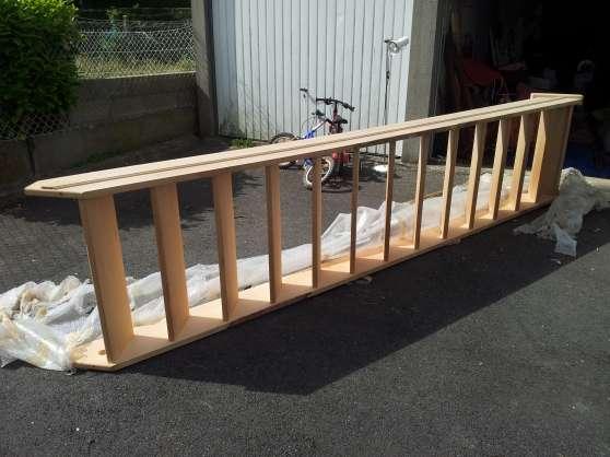escalier meunier en ch ne massif mat riaux de construction escaliers echelles bourg achard. Black Bedroom Furniture Sets. Home Design Ideas