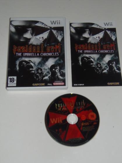 Jeu WII Resident Evil The Umbrella Chron