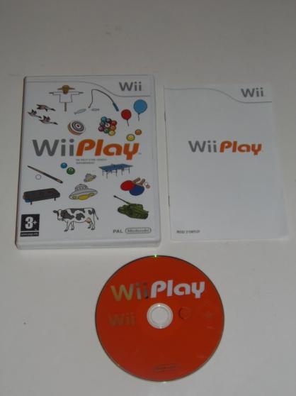 Jeu WII Wii Play (3+)