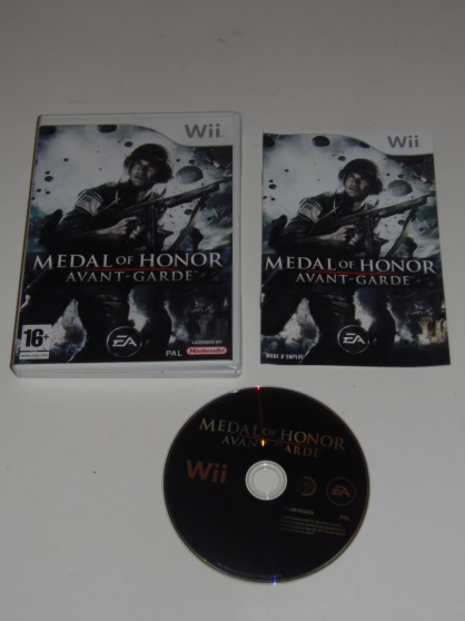 WII Medal of Honor : Avant-Garde wii (16