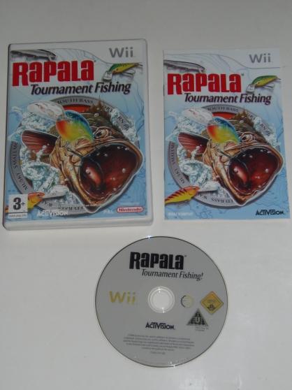 Jeux Wii Rapala Tournament Fishing (3+)