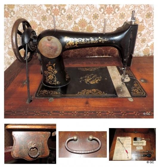 Machine à coudre ancienne