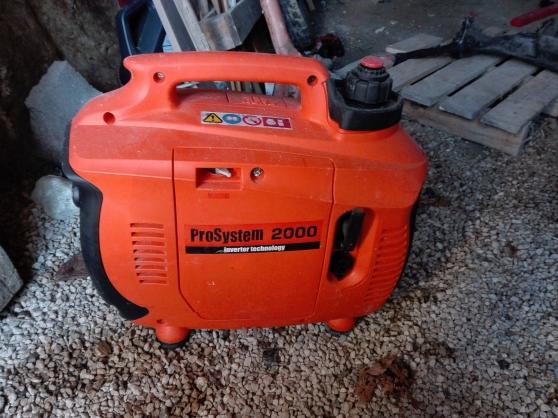 Annonce occasion, vente ou achat 'Groupe électrogène système 2000'